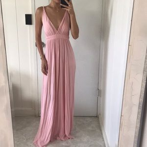 Gorgeous baby pink Gypsy05 maxi dress XS